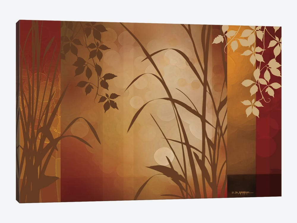 Flaxen Silhouette by Edward Aparicio 1-piece Canvas Art