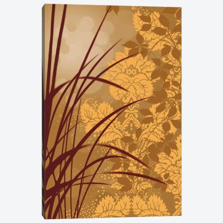 Golden Flourish I Canvas Print #EAP14} by Edward Aparicio Canvas Wall Art