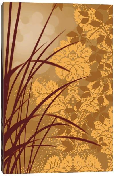 Golden Flourish I Canvas Art Print