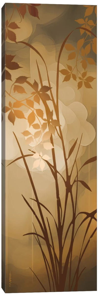 Golden Heights I Canvas Art Print