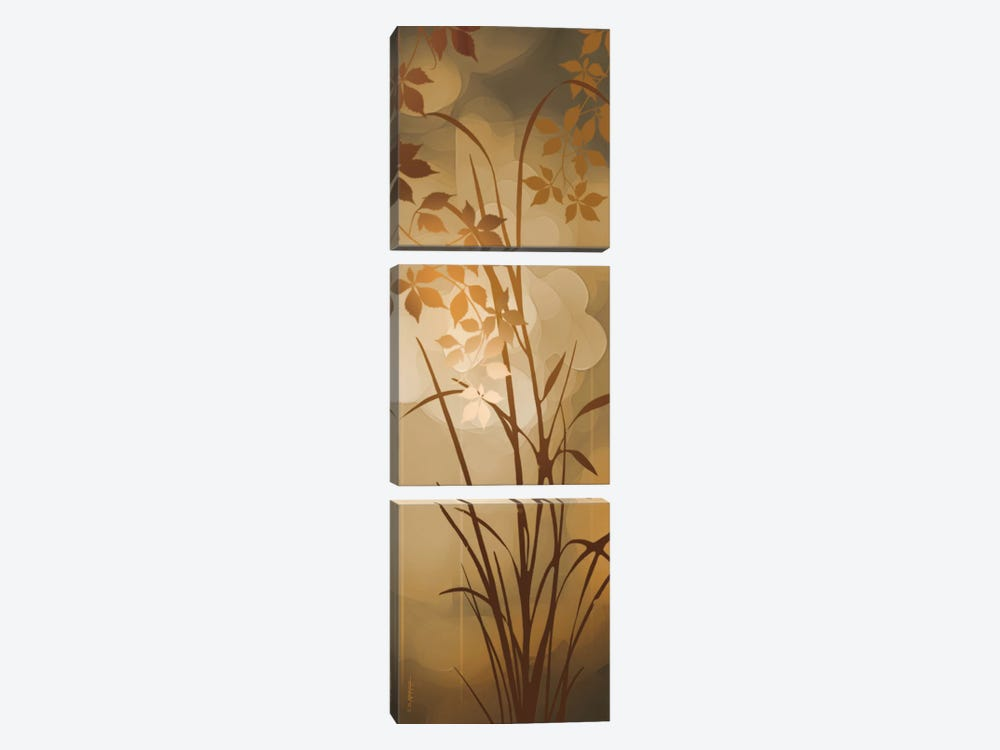 Golden Heights I by Edward Aparicio 3-piece Canvas Artwork