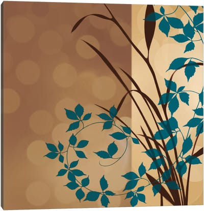 Sunset Blueprint II Canvas Art Print