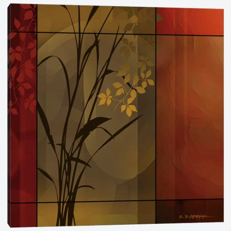 Floral Warmth Canvas Print #EAP27} by Edward Aparicio Canvas Print