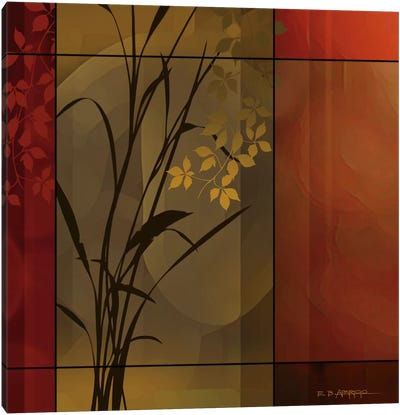 Floral Warmth Canvas Art Print