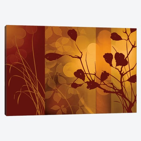 Scarlet Silhouette Canvas Print #EAP28} by Edward Aparicio Canvas Art