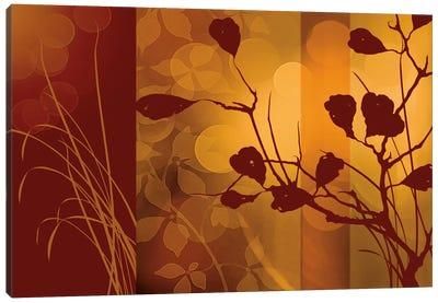 Scarlet Silhouette Canvas Art Print