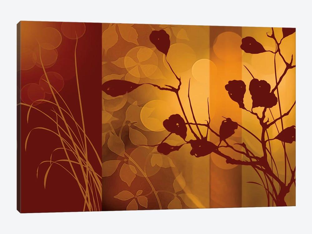 Scarlet Silhouette by Edward Aparicio 1-piece Art Print