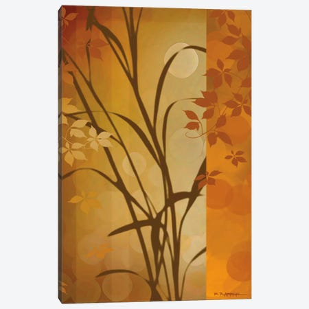 Autumn Sunset I Canvas Print #EAP5} by Edward Aparicio Canvas Artwork