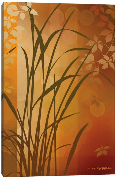 Autumn Sunset II Canvas Art Print