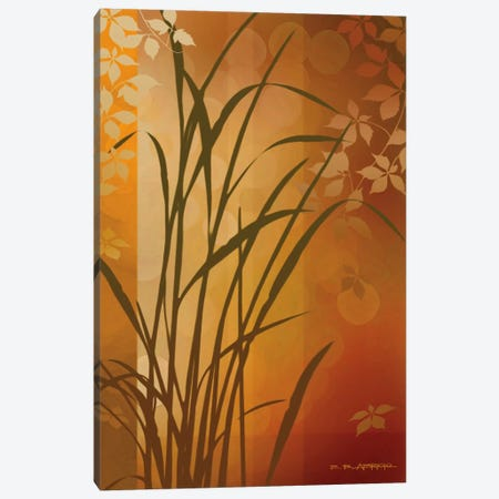 Autumn Sunset II Canvas Print #EAP6} by Edward Aparicio Canvas Artwork