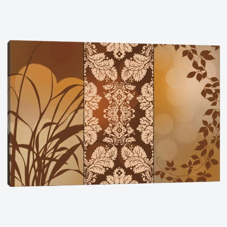 Bronze Filigree Canvas Print #EAP8} by Edward Aparicio Canvas Print