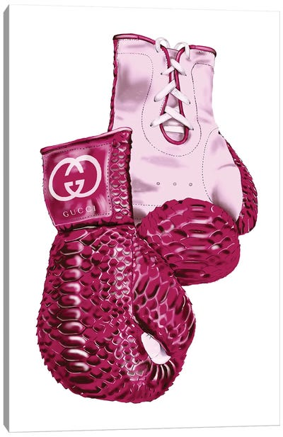 Gucci Boxing Gloves Canvas Art Print