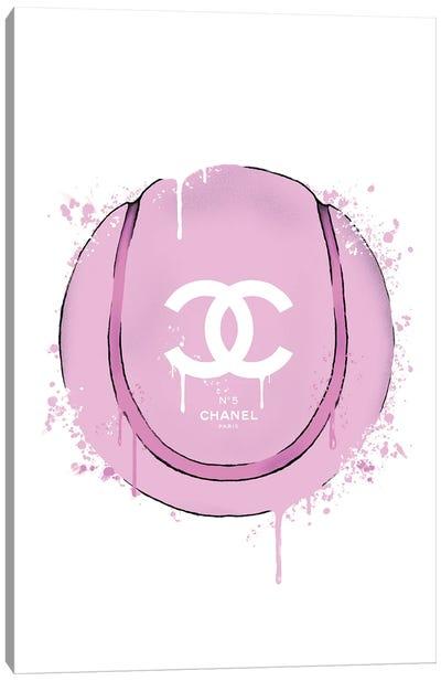 CC Pink Tennis Ball Canvas Art Print
