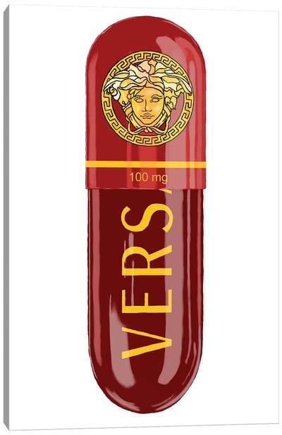 Versace Eros Flame 100MG Canvas Art Print