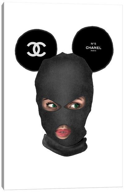 Chanel Mickey Balaclava Canvas Art Print