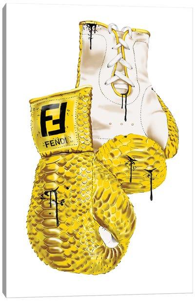 Fendi Boxing Gloves Canvas Art Print