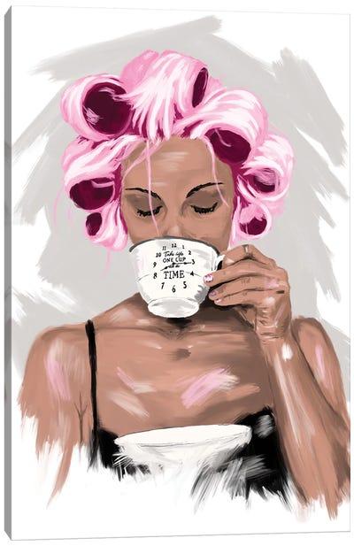 Godmorgon Canvas Art Print