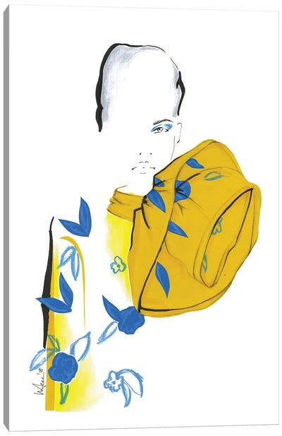 Marc Jacobs Collage Canvas Art Print