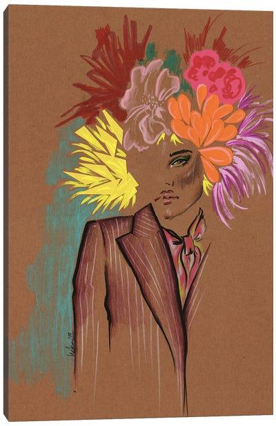 Marc Jacobs Florals Canvas Art Print