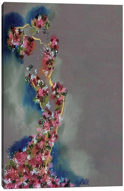McQueen Roses Canvas Art Print
