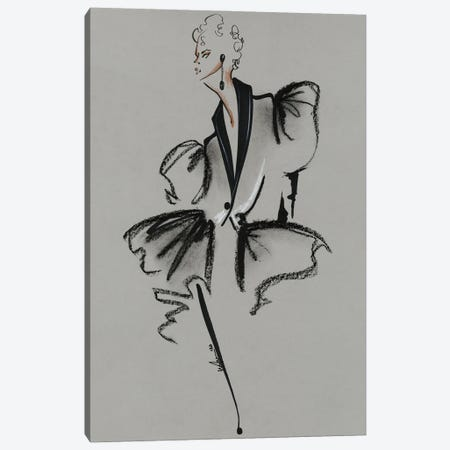 Alexander McQueen Spring Summer 2020 Canvas Print #EAZ1} by Elly Azizian Canvas Print