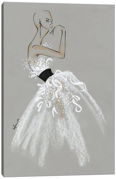 Alexander McQueen Spring Summer 2020 Collection Canvas Art Print