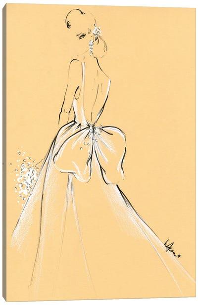 Monique Lhuillier Bride Canvas Art Print
