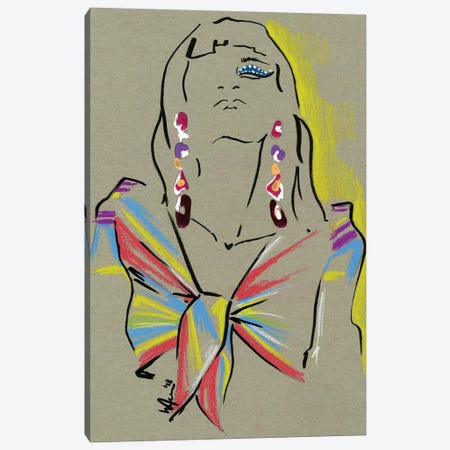 Moschino Circus Canvas Print #EAZ22} by Elly Azizian Canvas Art