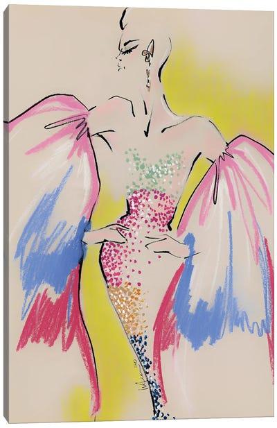 Schiaparelli Multicolor Haute Couture Canvas Art Print