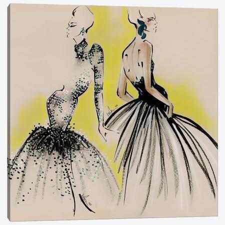 Schiaparelli Haute Couture Canvas Print #EAZ27} by Elly Azizian Art Print
