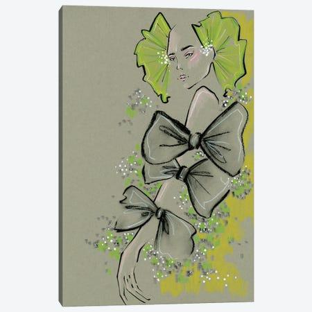 Valentino Bows Canvas Print #EAZ30} by Elly Azizian Canvas Art Print