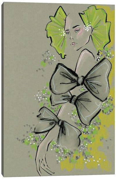 Valentino Bows Canvas Art Print
