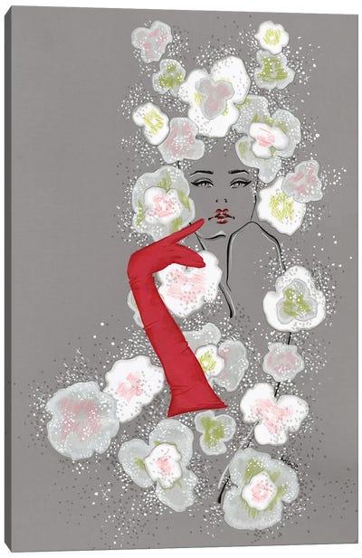 Valentino Haute Couture Florals Canvas Art Print