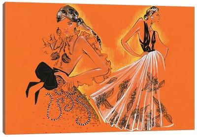 Yolancris Haute Couture Canvas Art Print