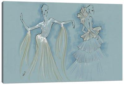 Ziad Nakad Haute Couture Canvas Art Print
