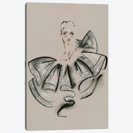 Givenchy Haute Couture I Canvas Print #EAZ40} by Elly Azizian Canvas Art