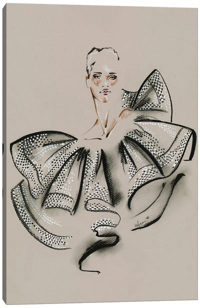 Givenchy Haute Couture I Canvas Art Print