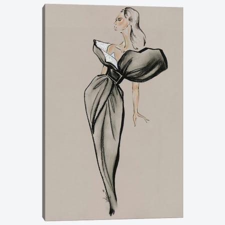 Givenchy Haute Couture II Canvas Print #EAZ41} by Elly Azizian Canvas Artwork