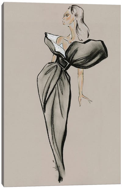 Givenchy Haute Couture II Canvas Art Print