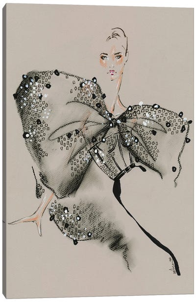 Givenchy Haute Couture III Canvas Art Print