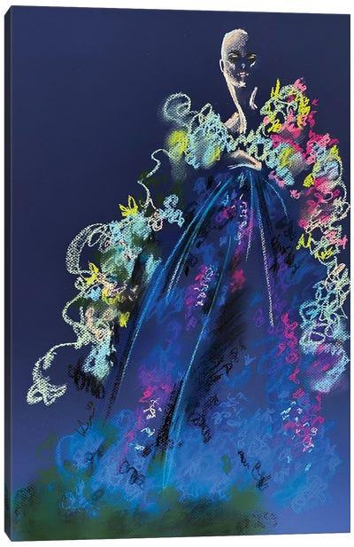 Springtime Pastel Florals Canvas Art Print