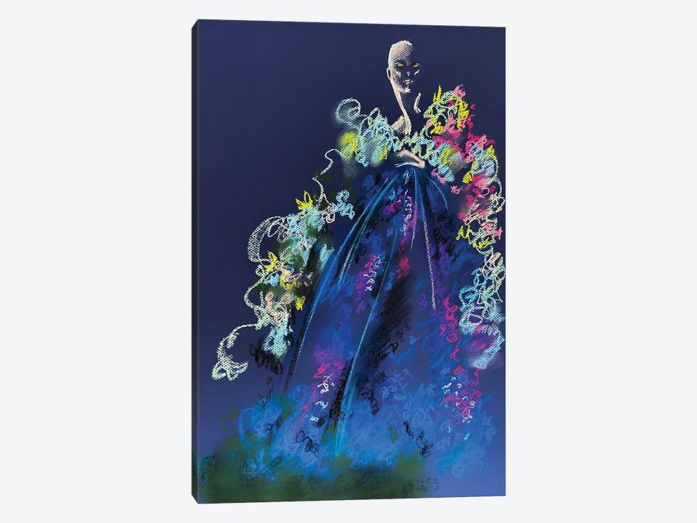 Springtime Pastel Florals by Elly Azizian 1-piece Canvas Wall Art