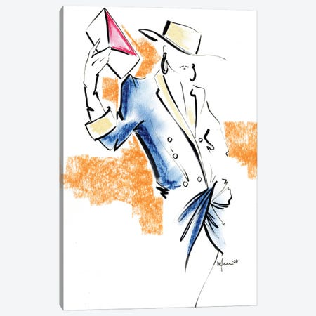 Balmain Spring Summer Canvas Print #EAZ50} by Elly Azizian Art Print