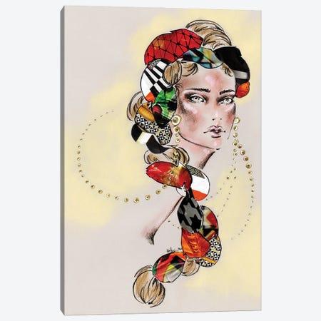 Braided Canvas Print #EAZ51} by Elly Azizian Art Print