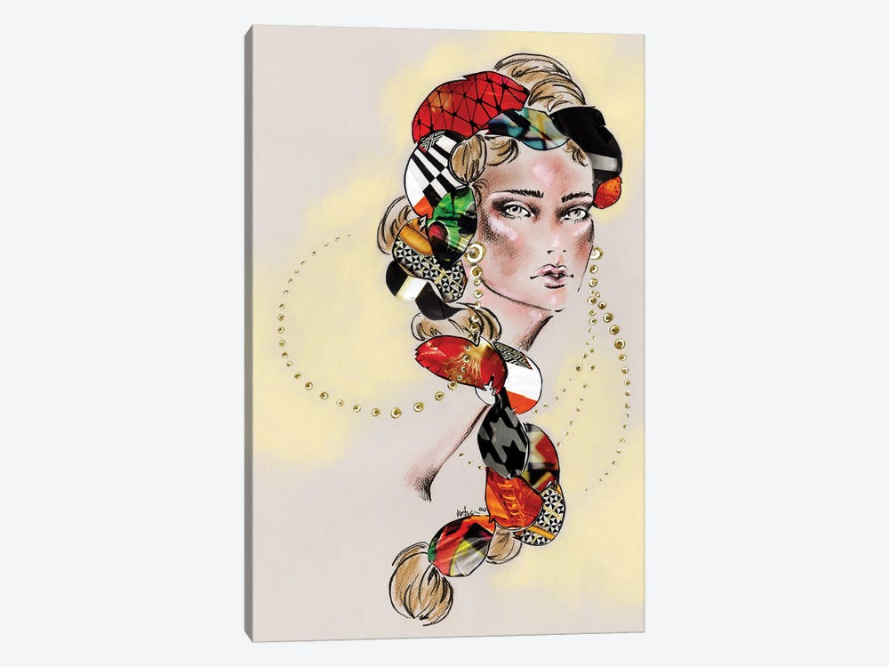 Braided by Elly Azizian 1-piece Canvas Print