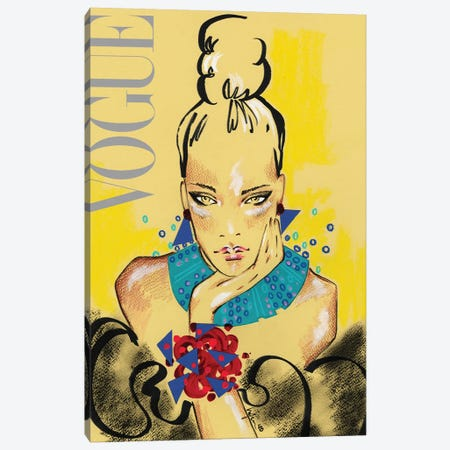 Vogue Italia Canvas Print #EAZ52} by Elly Azizian Canvas Art Print