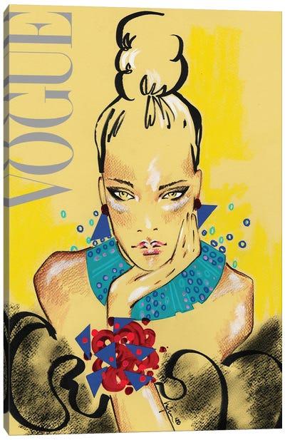 Vogue Italia Canvas Art Print