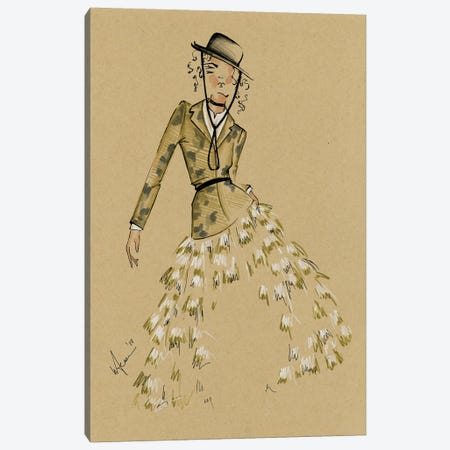 Dior Cruise Collection Canvas Print #EAZ9} by Elly Azizian Canvas Print
