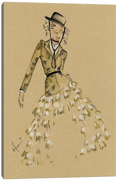 Dior Cruise Collection Canvas Art Print