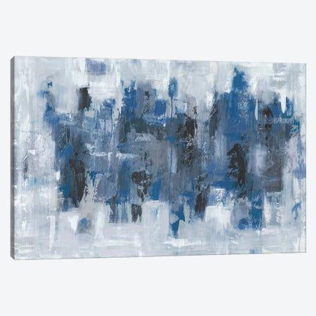 Midtown Moonlight Canvas Print #EBE1} by Emma Bell Canvas Art